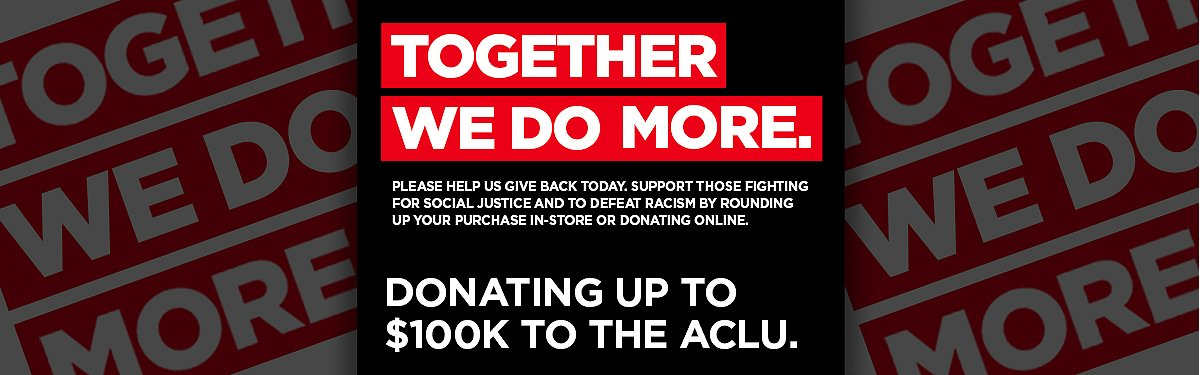 Spencer's ACLU donation Black Friday weekend