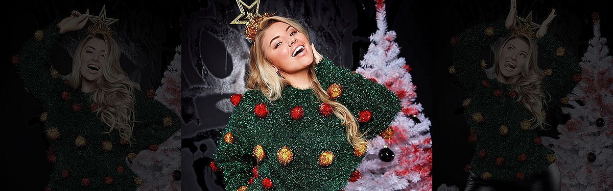 ashley alexiss top five ugly christmas sweaters interview