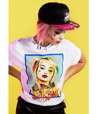 Harley Quinn Birds of Prey Box Art T Shirt
