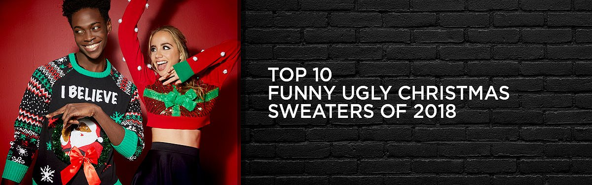 Top 10 Funny Ugly Christmas Sweaters of 2018 – Spencers